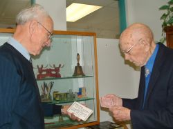 Les Skipsey and Gavin Halkett, the founders of the collection